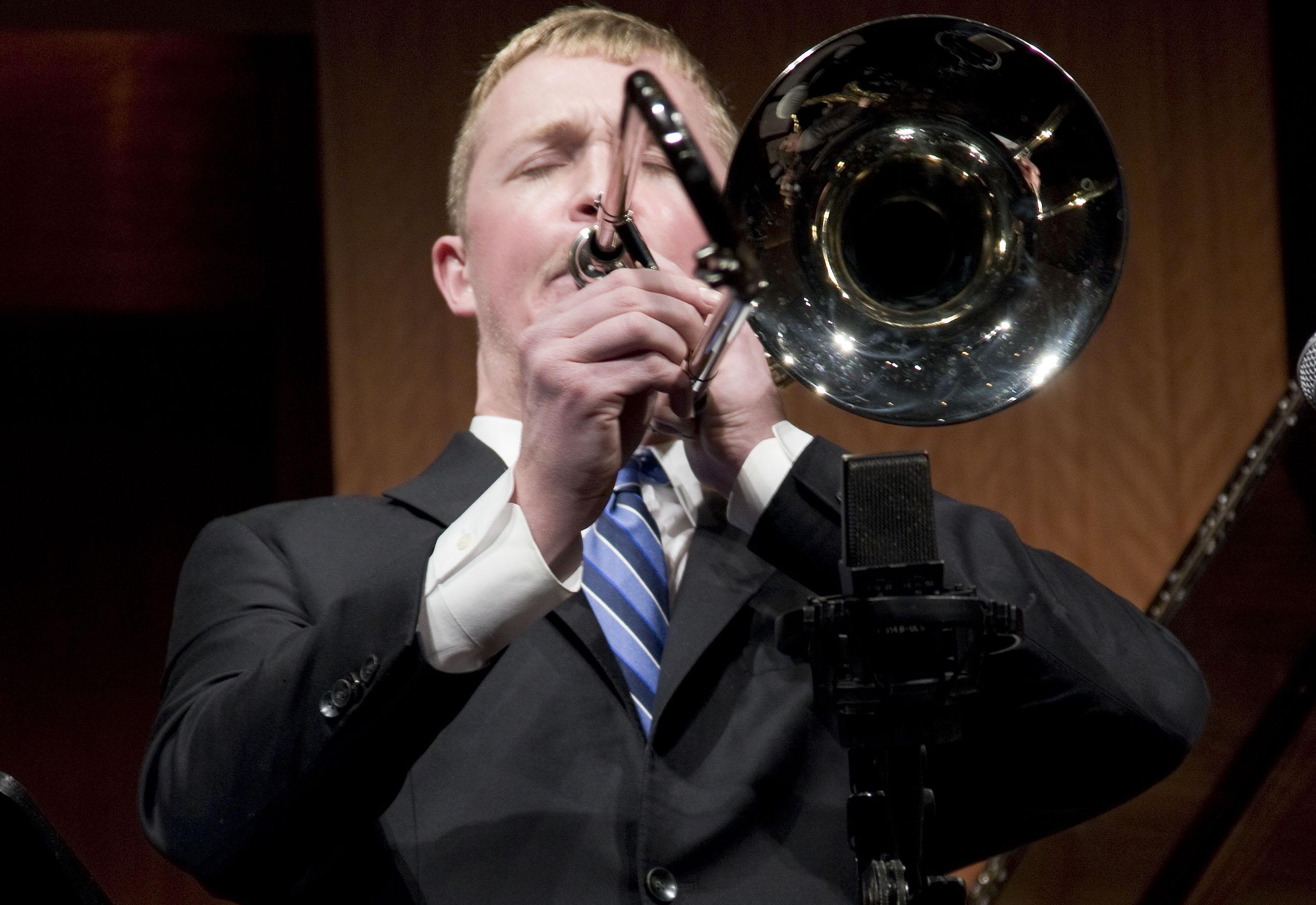 transcribed rock n roll trombone