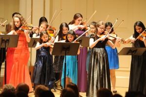 String Choir at Carnegie Hall
